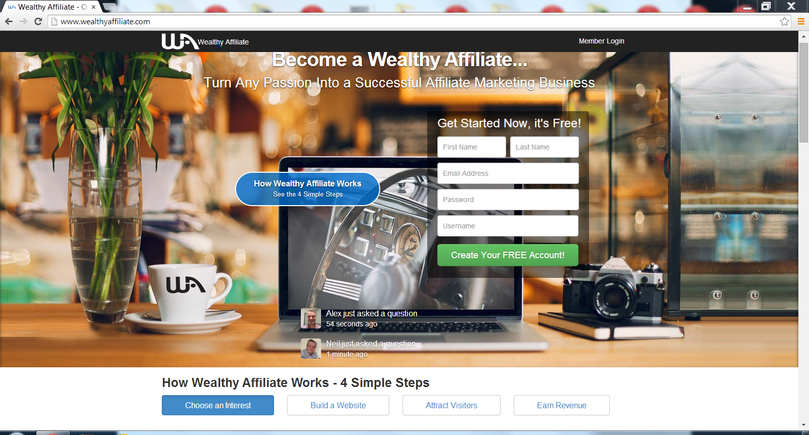 is Wealthy Affiliate legit-my review
