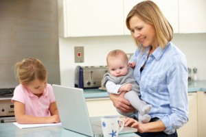 free work at home jobs for moms