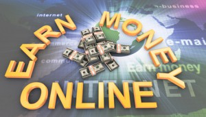 The top 10 ways to earn money on the Internet photo with words earn money online.