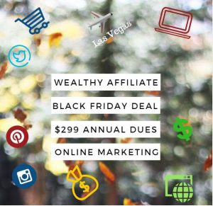 is wealthy affiliate black friday, start your own online business