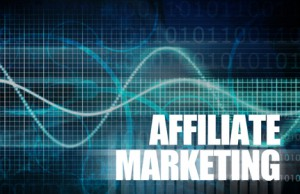 Photo with the words Affiliate Marketing on it.