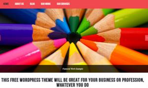 WordPress Theme 1